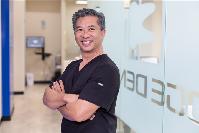 Edge Dental Houston emergency Dentist Dr Ly