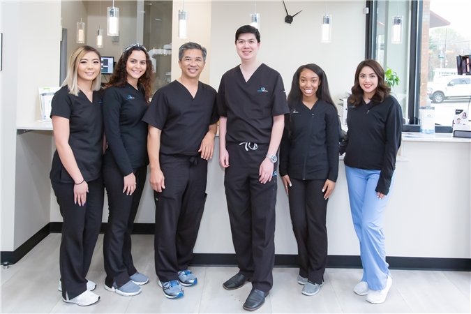 Edge Dental Houston Dentist Invisalign Staff